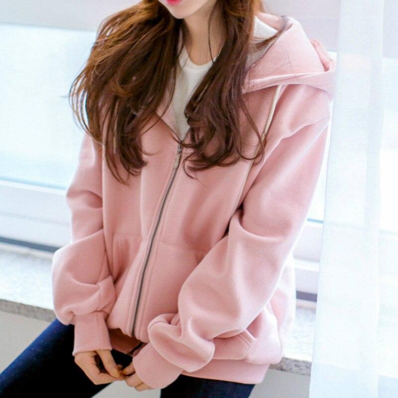 Sweatshirt Women 2019 Autumn And Winter Ladies Hoodies Pullover Woman Hoodies Sweatshirts Korean Casual Clothing For Ladies New