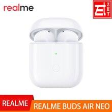 Realme için tomurcukları hava Neo kablosuz kulaklık Bluetooth 5.0 TWS gerçek kablosuz R1 çip realme için X2 Pro X50 Pro 6 6i 6 Pro