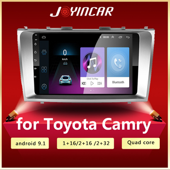9 WiFi Android 9.0 Car Radio Multimedia Video Players Navigation GPS DVD For Toyota Camry 40 50 2006-2011 Head Unit 2 din image