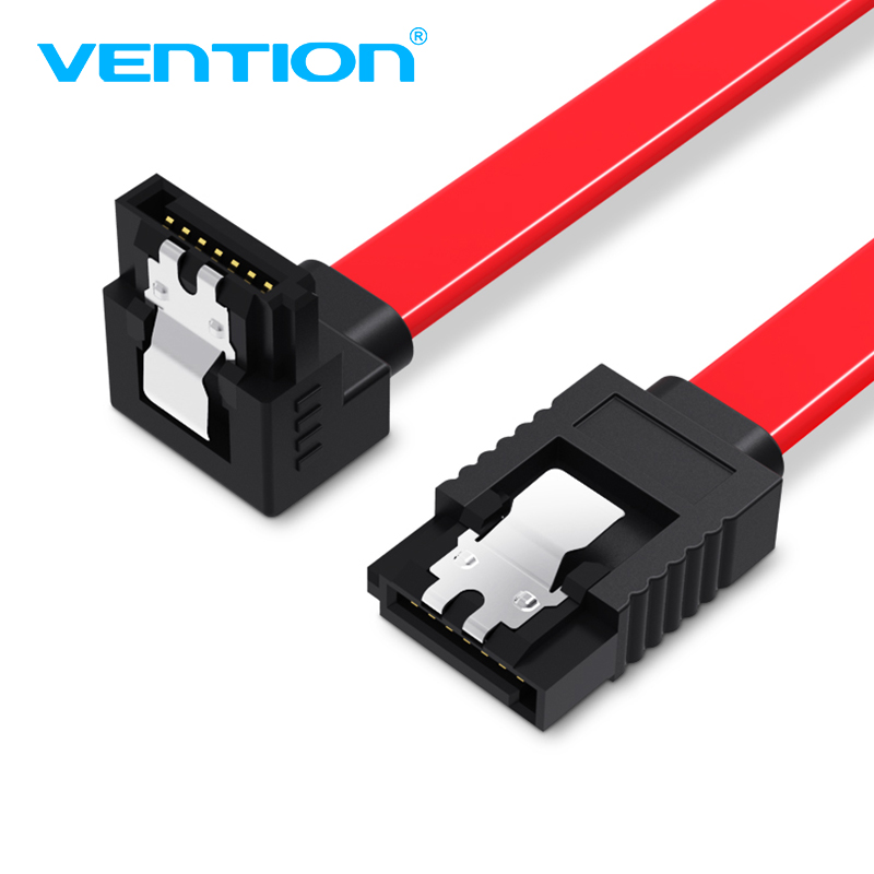 "5x 24/"" SATA 3.0 III SATA3 SATAiii HDD Hard Drive Data Cable Straight Right Angle"