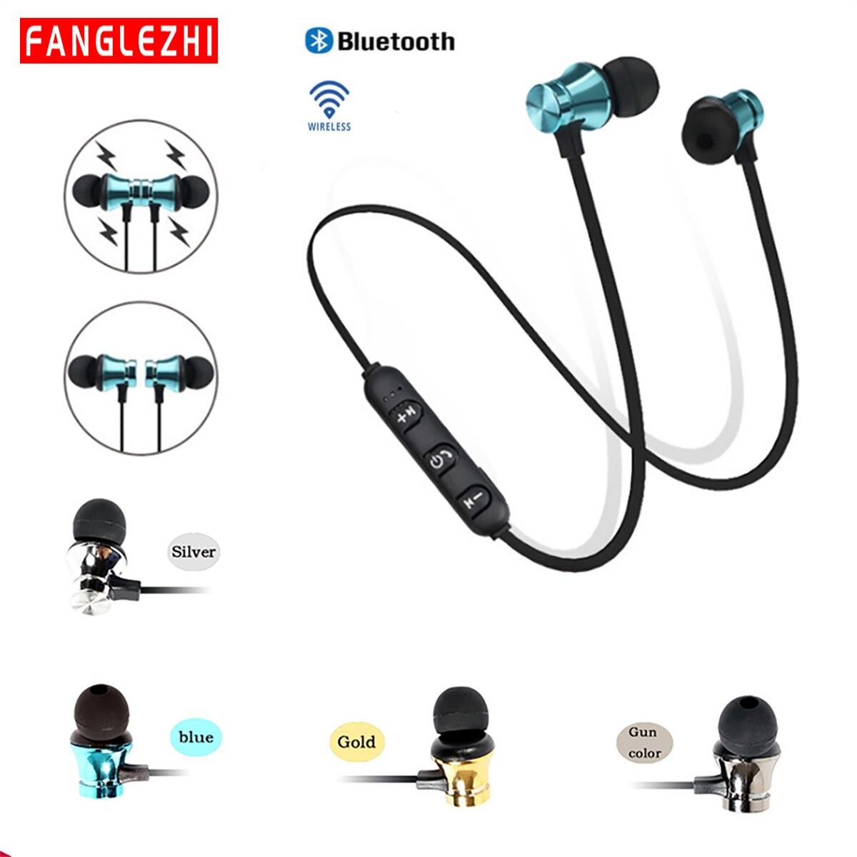 In Ear Headphones Wireless Bluetooth Earphones With Microphone Headphone Handsfree Headset Neckband Sports Earphone For phone