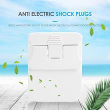 20Pcs Sicherheit Anti Elektrische Schock Stecker Baby Kinder Elektrische Steckdose Abdeckung Protector Kreative Schutz für Hause
