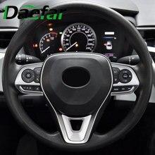 Sticker Button-Panel-Cover Steering-Wheel RAV 4-Corolla Trim Car for Toyota Avalon