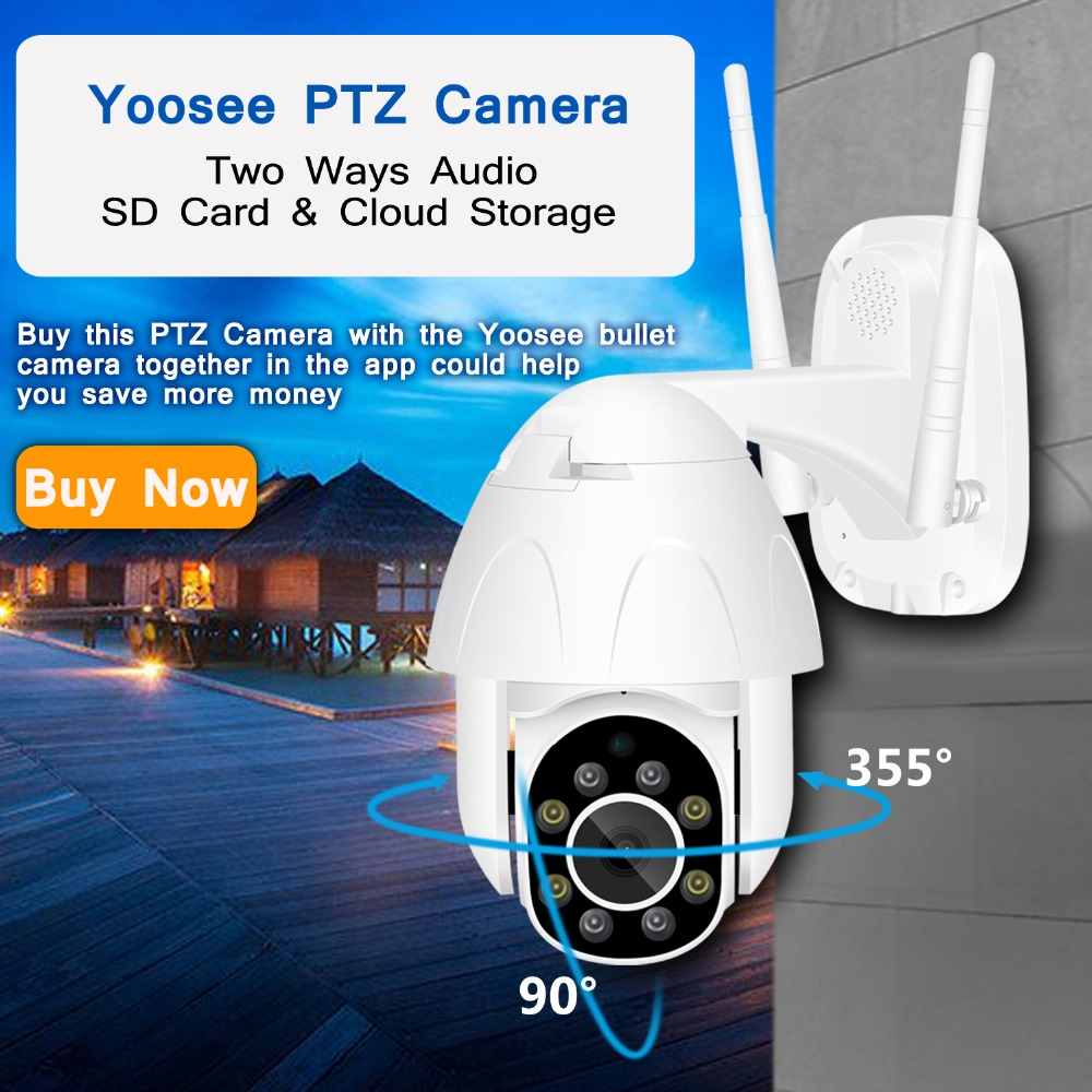 Hd267fa8f7f4f4ed8ab0f6719e97f68fa5 BESDER Yoosee IP Camera Wifi 1080P 960P 720P ONVIF Wireless Wired P2P CCTV Bullet Outdoor Camera With MiscroSD Card Slot Max 64G