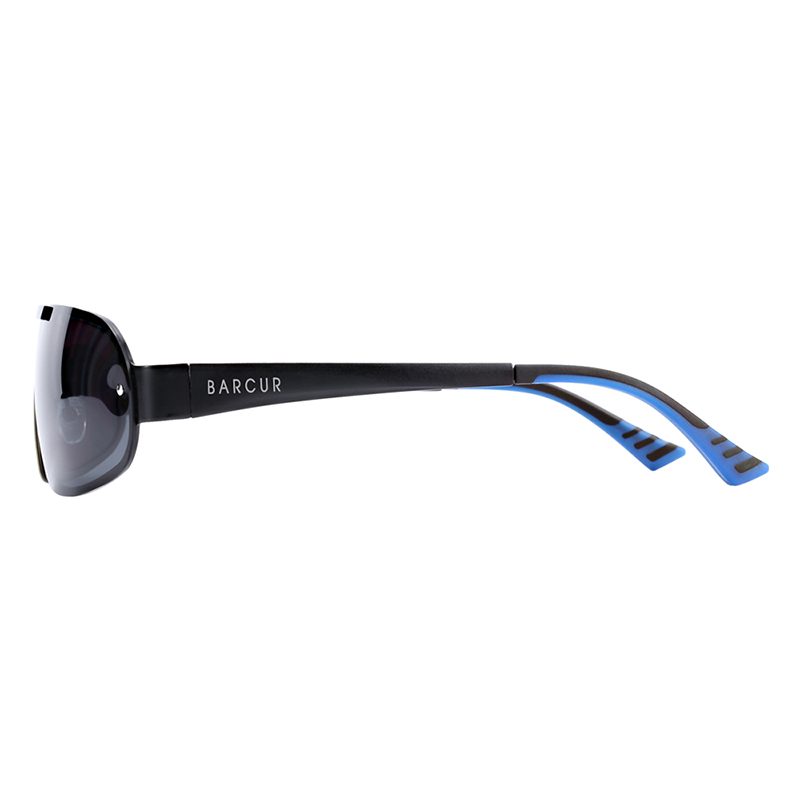 BARCUR Aluminum Magnesium Men Women Sunglasses Pilot Driving UV400 Protection BC8225
