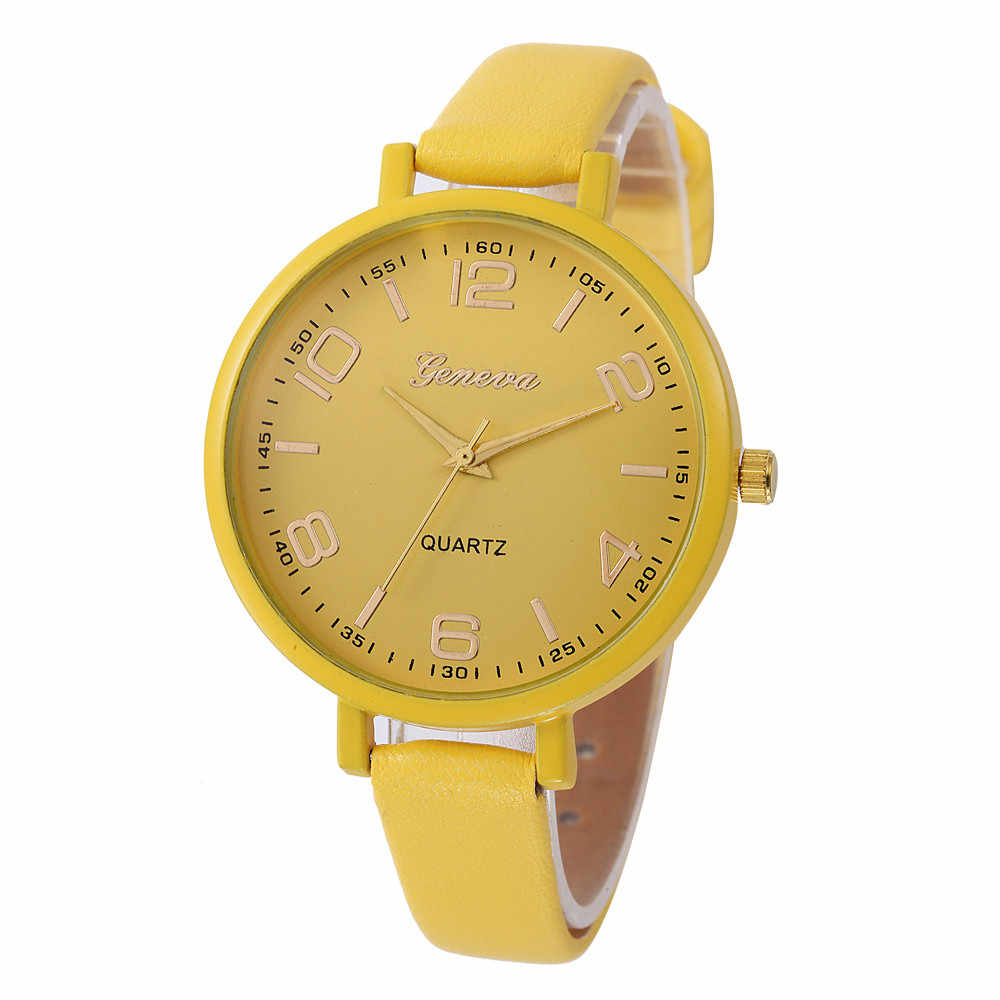 Women Casual Wrist Watches Ladies Vogue Checkers Faux Leather Analog Watch Female Clocks Women's Quartz Watch Relogio 2020Jan