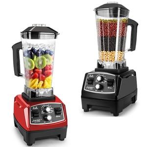 Image 1 - Minuterie sans BPA 3HP 2200W mélangeur Commercial mélangeur presse agrumes puissance robot culinaire Smoothie Bar fruits mélangeur électrique
