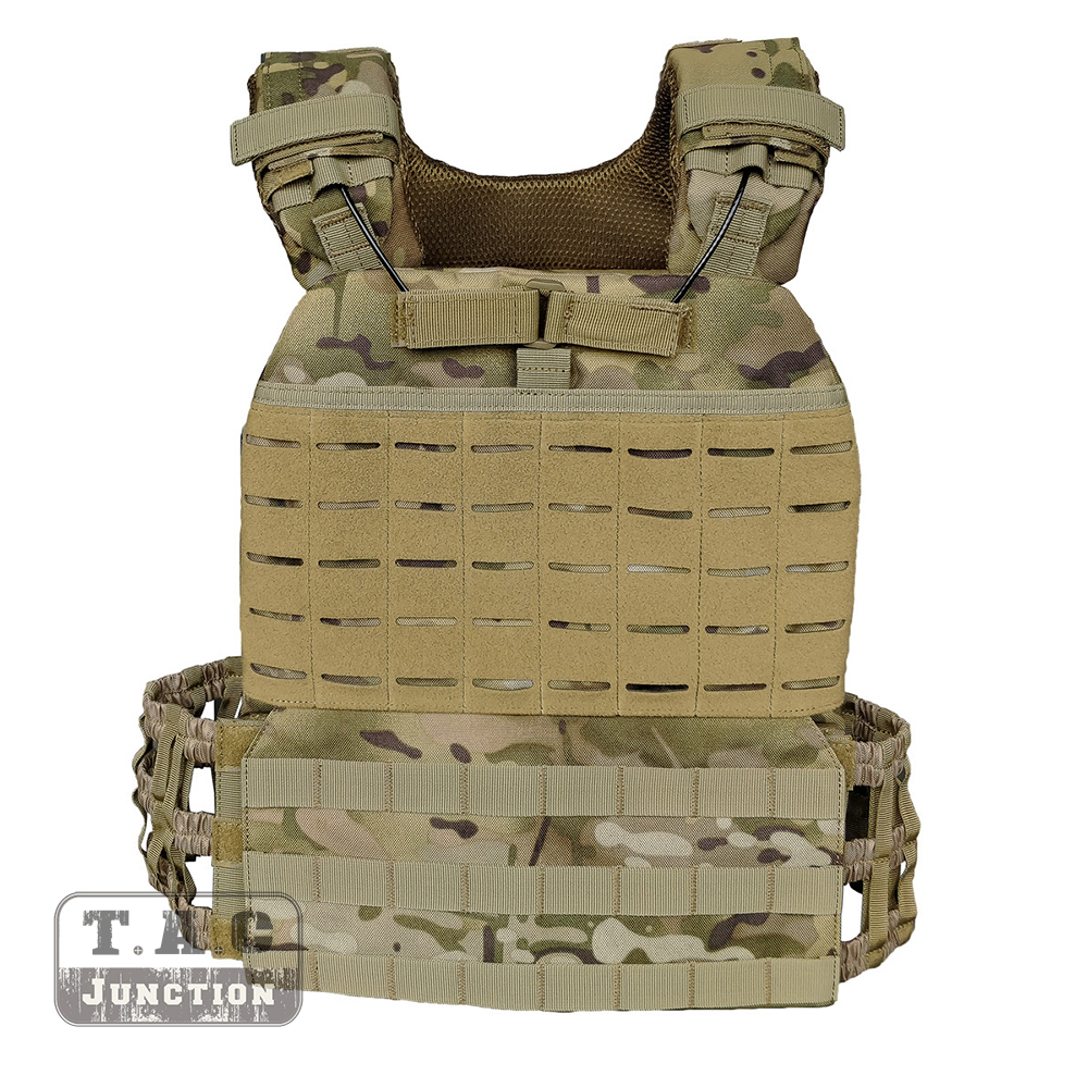 511 Style MOLLE CrossFit Tactical Vest Plate Heavy Carrier Adjustable Quick Release Vest For Airsoft Paintball Hunting MC