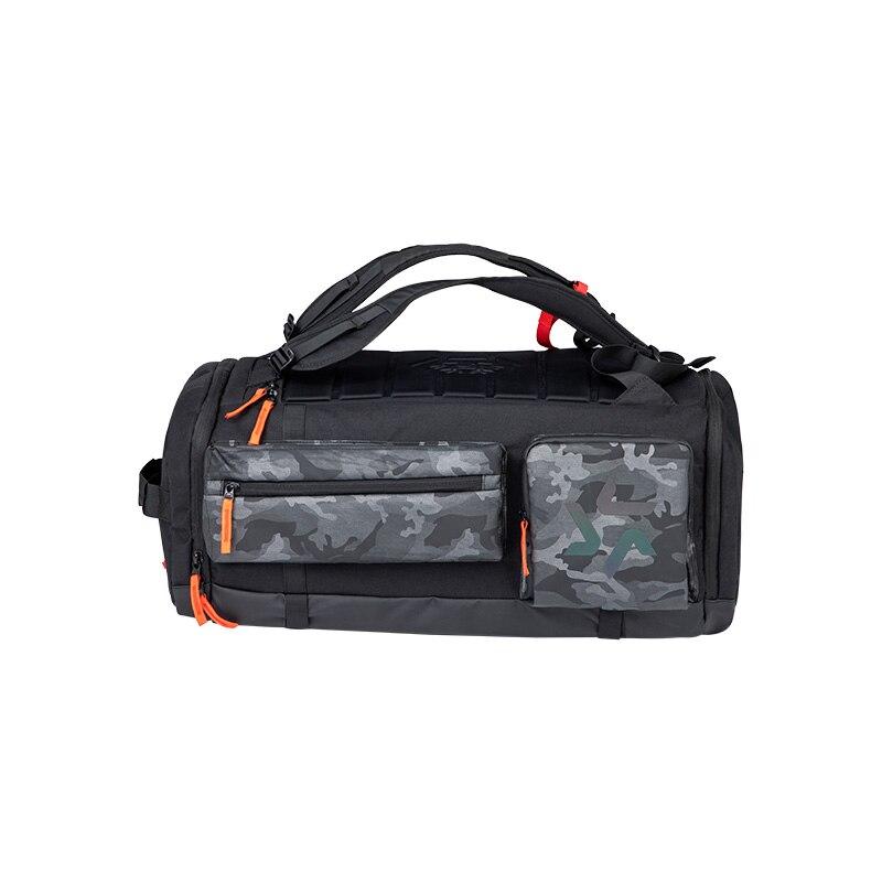 Лыжная сумка для сноуборда, сумка для зимних видов спорта, дорожная сумка DWR, оболочка для ботинок и шлемов, плечевой ремень, светильник, легкий доступ для хранения - Цвет: Black Camo