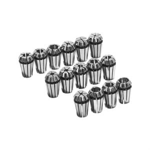 """Image 3 - 15Pcs/Set 1 7mm ER11 Milling Chuck +1 1/4"""" ER11 Milling Chuck Spring Collet Set For CNC Engraving Machine & Milling Lathe Tool"""