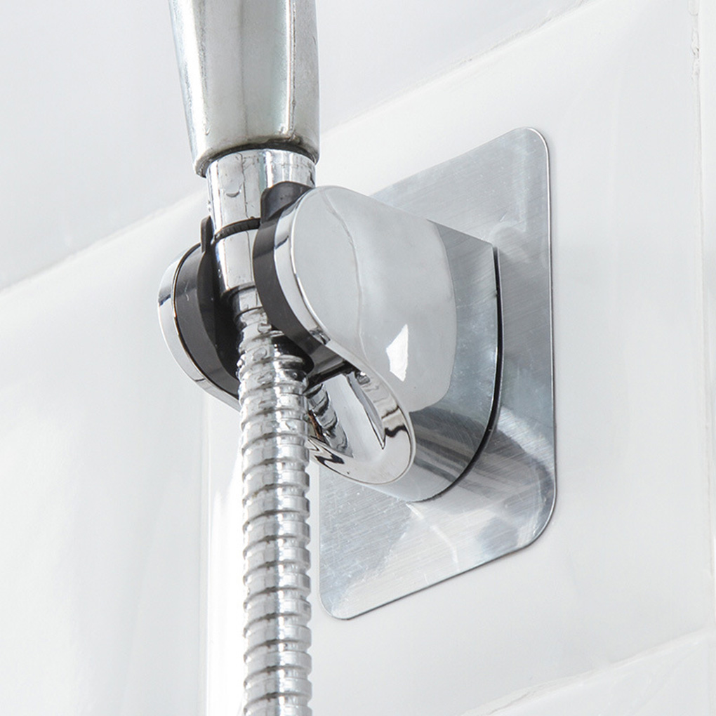 Bathroom Shower Head Holder Toilet Handheld Shower Sray Nozzle Hose Seat Mounting Bracket Stand Punch-Free