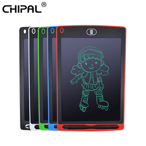 CHIPAL 8.5'' Smart LCD Drawing Tablet Digital Graphic Writing Tablets Portable Electronic Pad Handwriting Board + Pen / Battery