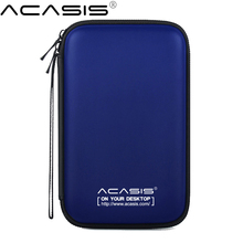 2 5 Inch HDD Box Bag Case Portable Hard Drive Disk Bag for External Portable HDD hdd box Power Bank case storage Protection box cheap Acasis