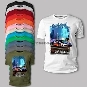 2020 New Men T Shirt T-Shirt 617 McLaren MP4-12C Sports Blau Orange Auto Youngtimer Oldtimer Herren T Shirt(China)