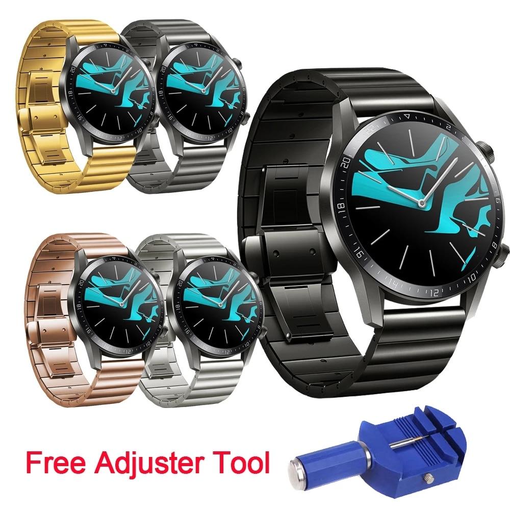 Купить ремешок для часов huawei watch gt2 46 мм браслет из нержавеющей