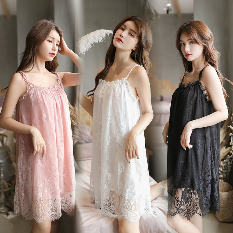 Sexy Sleepwear For Women Babydoll Sleepwear Sexy Nightdress Sleepwear Plus Size 2483