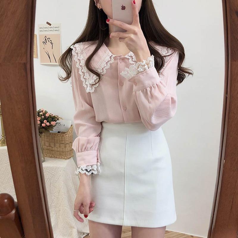 Купить новое поступление 2020 блузка для ранней осени рубашка корейские