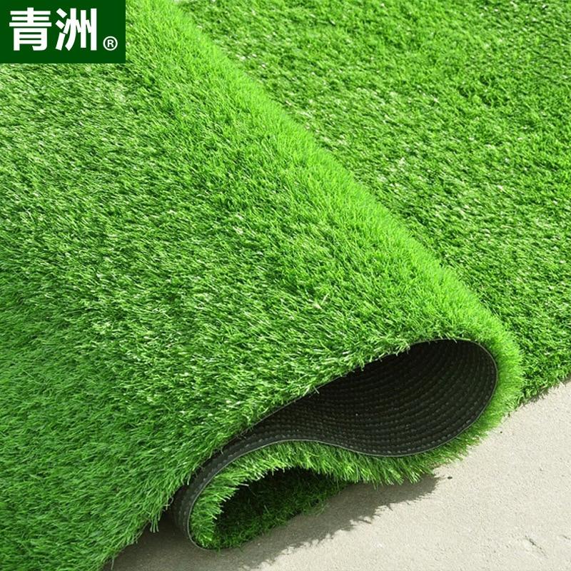 Lawn Spring Grass Imitation Plants Artificial Grass For Ground Rooftop Football Field Golf Course Kindergarten School Outdoor