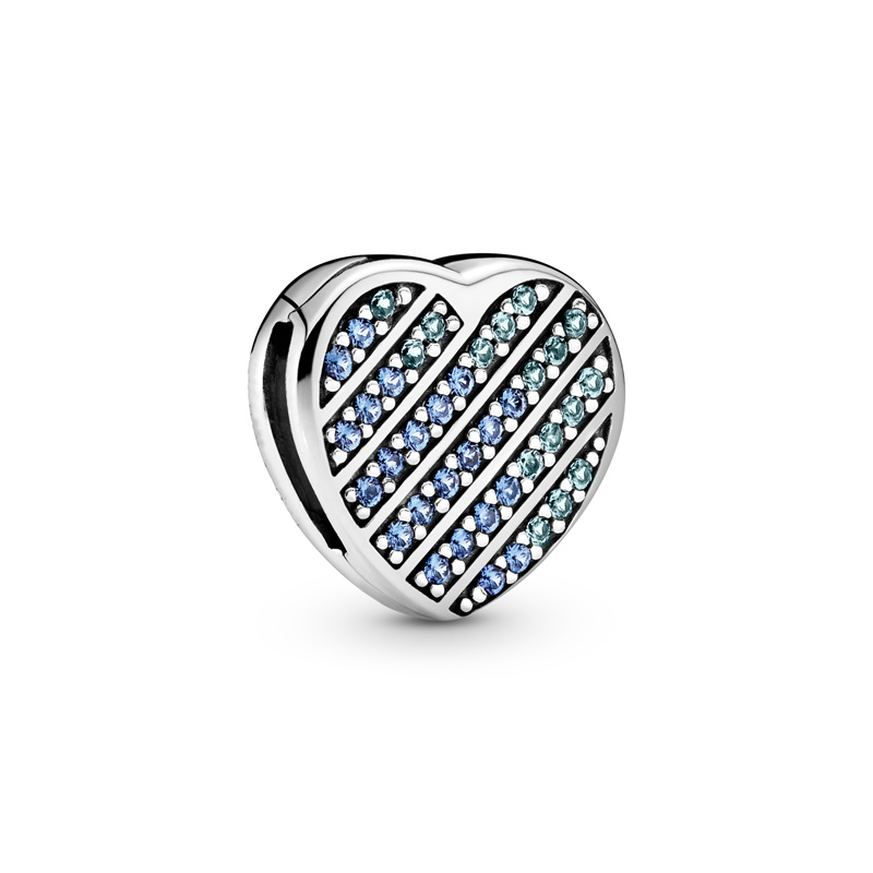 2020 Spring New 925 Sterling Silver Beads Pink Daisy Flower Clip Charms fit Original Pandora Bracelets Women DIY Jewelry CMS2016