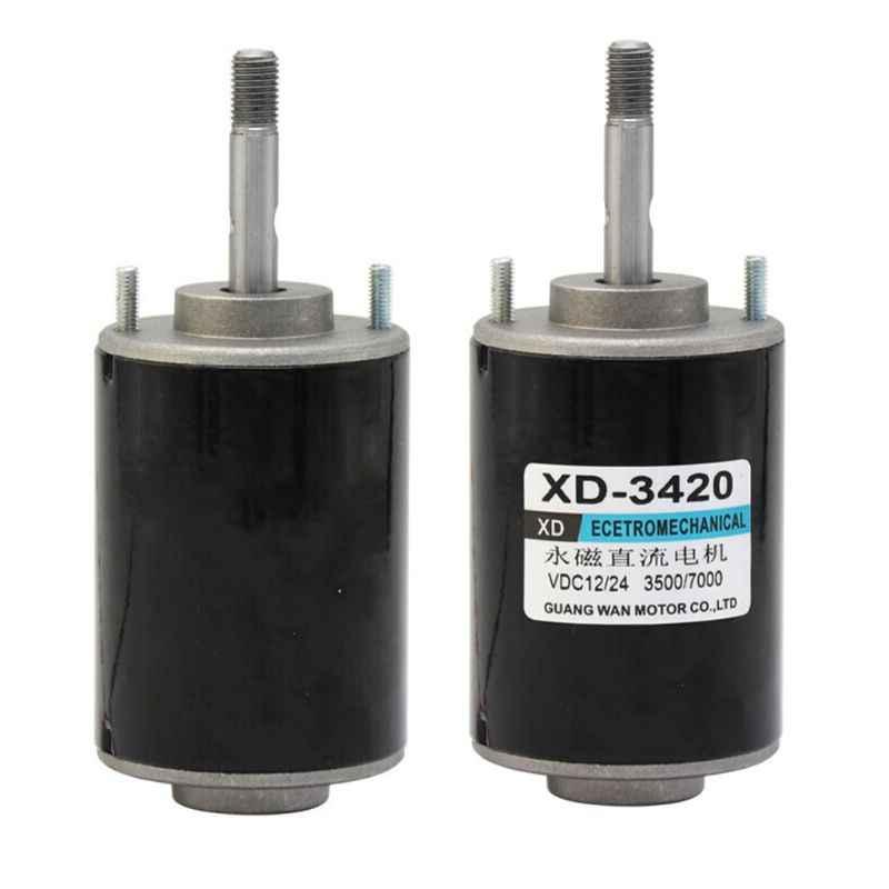 12/24V 30W แม่เหล็กถาวรไฟฟ้า DC มอเตอร์ความเร็วสูง CW/CCW สำหรับเครื่องกำเนิดไฟฟ้า DIY