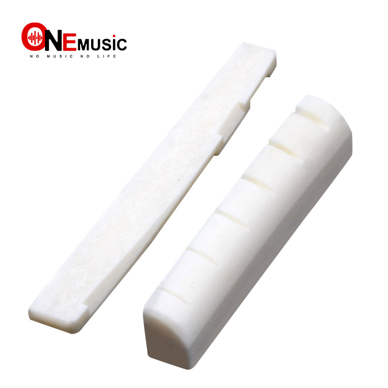 100pcs Cattle Bone <font><b>Saddle</b></font> and Nut for <font><b>Acoustic</b></font> <font><b>Guitar</b></font> 6 string Folk <font><b>Guitar</b></font> <font><b>Bridge</b></font> <font><b>saddle</b></font> and Nut <font><b>Guitar</b></font> Parts image