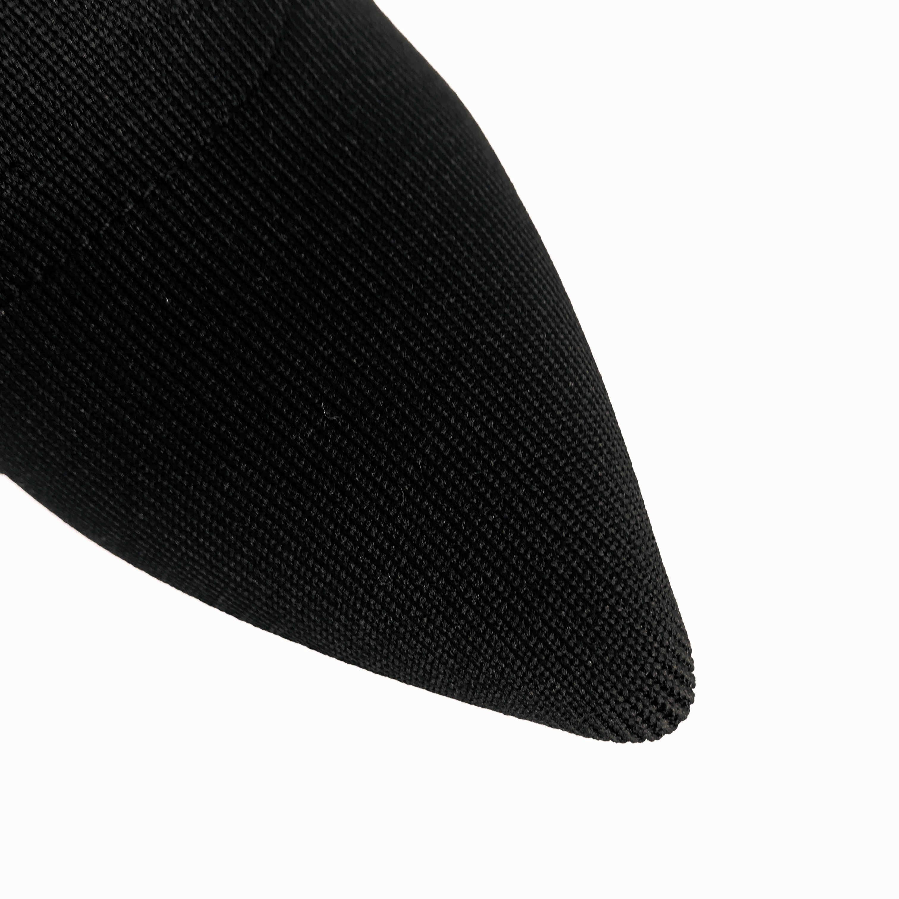 Siyah sivri burun çorap kadın moda konfor blok topuk yarım çizmeler bayanlar parti kısa çizmeler kadın sonbahar kış botları