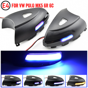 Image 4 - 2pcs Side Mirror indicator Dynamic Sequential Flowing LED Turn Signal Light Puddle Light For VW Volkswagen Tiguan MK1 2008 2016