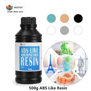 WEISTEK LCD 3D Printer ABS Like UV Resin 500g/0.5kg Sensitive Photopolymer Printing Material For Photon Mono X 3D печать