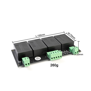 Image 2 - QNBBM 4S 12V البطارية نشطة المعادل الموازن BMS ل LiFePO4 ، يبو ، عفرتو ، NCM ، يمون 18650 DIY بطارية حزمة
