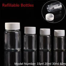 10 шт пластиковые ПЭТ прозрачные пустые герметичные бутылки