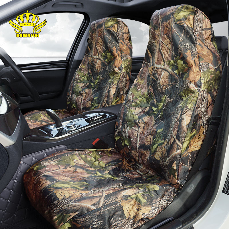 Heavy Duty Waterproof  Car Seat Cover Universal FIT CAMO