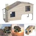1/35 szene Europäischen Holz Haus Montage Gebäude Materialien für Sand Tisch Modell DIY Kit