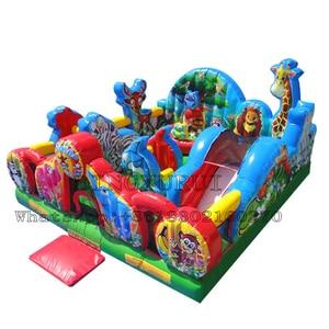 Inflatable Fun City Animal Kin