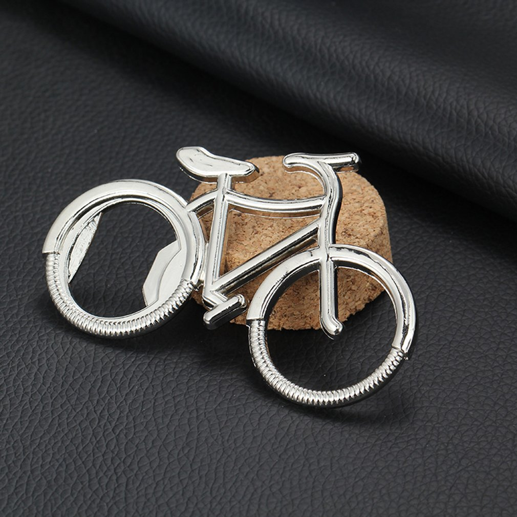 Bicycle Metal Beer Bottle Opener Cute Key Ring For Bike Lover Wedding Anniversary Party Gift Bike Keychain