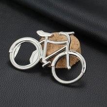 Abrebotellas de cerveza de Metal de bicicleta llavero lindo para amante de las bicicletas boda aniversario regalo bicicleta llavero