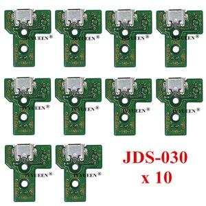 Image 5 - 10個jds 050 040 030 011 usb充電ポートソケットボードプレイステーション4 PS4 DS4プロスリムコントローラ充電器pcbボード