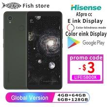 Hisense a5 a5pro cc snapdragon 439 android 9.0 telefone inteligente google play 5.84