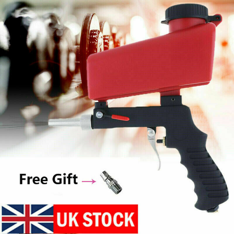 Adjustment Handheld Air Flow Speed Gun Sand Blaster Sandblaster Sandblasting