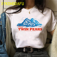 Twin Peaks Women T Shirt Aesthetic Ulzzang Graphic Grunge Tshirt Harajuku 90s Femme Clothing T-shirt Top Tee O-Neck Female