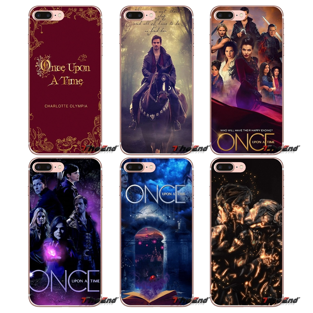 Once Upon A Time Book TV Series Soft Case For Samsung Galaxy Note 3 4 5
