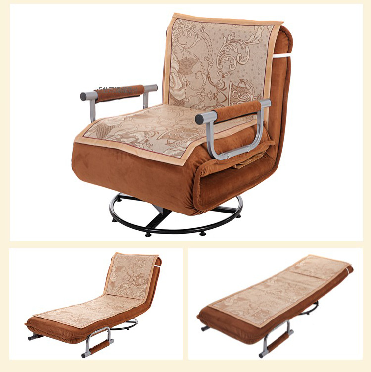 X1-Swivel Chair Supporting Summer Sleeping Mat (Please Sofa With Buying, Single Purchase Please Additional Cost For Shipping)