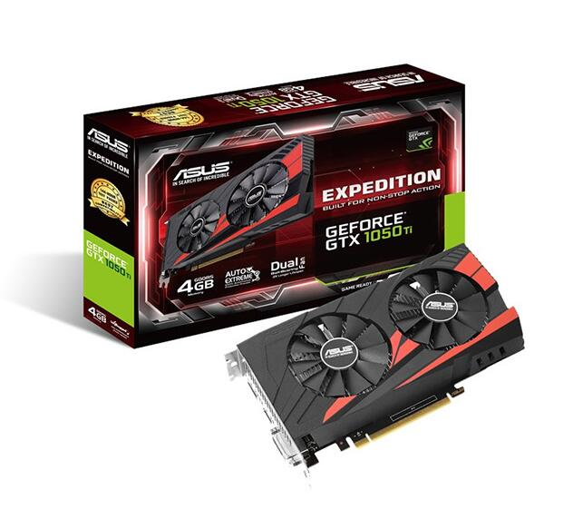 Asus EX-GTX1050TI-4G Ice Knight game graphics GTX1050TI 4G image