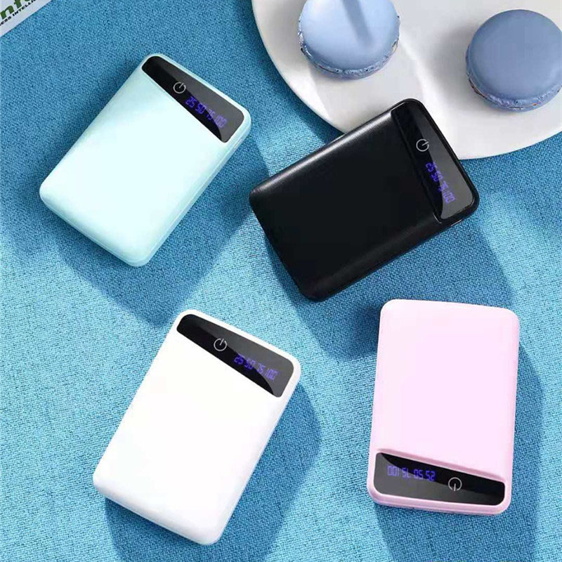 Micro 3 USB 10000mAh Power Bank Case Shell 3*18650 DIY Portable Battery Holder Led Display Powerbank Case Box For Phone Charing