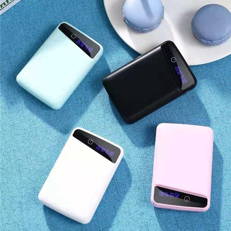 Micro 3 USB 10000mAh Power Bank Case Shell 3*18650 DIY Portable Battery Holder Led Display Powerbank Case Box For Phone Charing