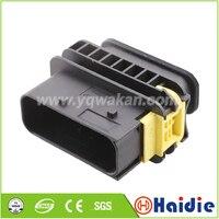 Envío gratis 2 juegos auto 16pin cable de montaje de coche conector de arnés de cableado 1 1564528 1 Conectores     -