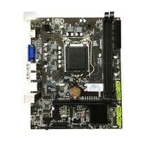 H55 płyta główna LGA1156 DDR3 16Gram podwójny Sata 2.0 4x usb 2.0 PCI Express płyty głównej płyta główna obsługuje I3 I5 I7 procesora do komputera w Płyty główne od Komputer i biuro na