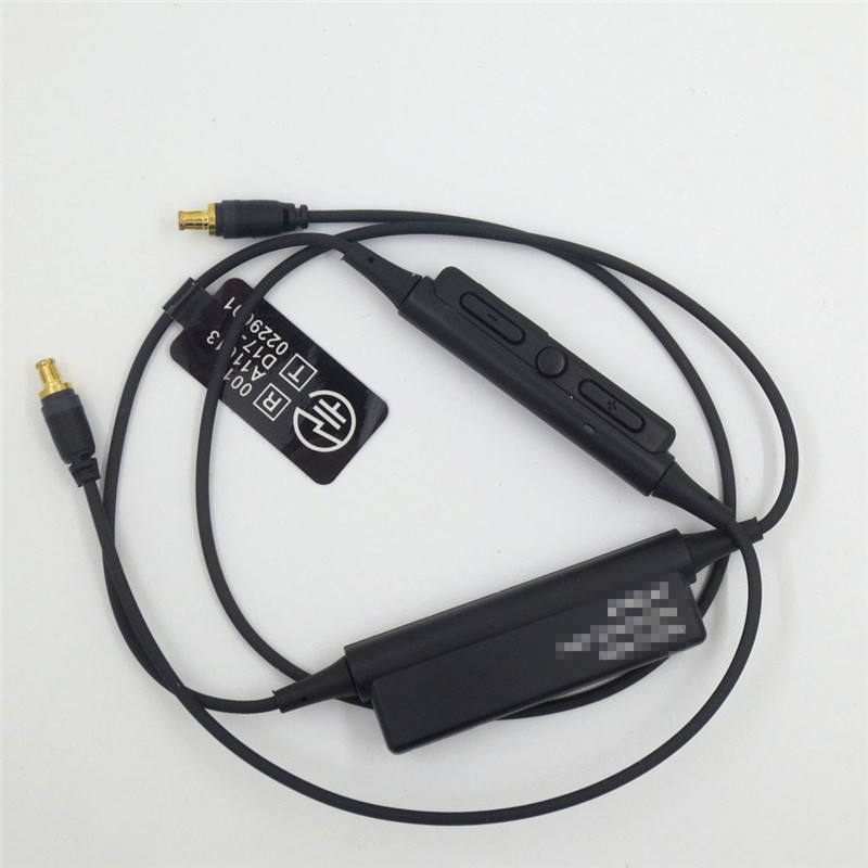 Bluetooth Earphone A2DC Cable for ATH-LS50 LS70 CKS1100 CKR90 CKR100 Headphones Microphone Volume Control 23 AugO9