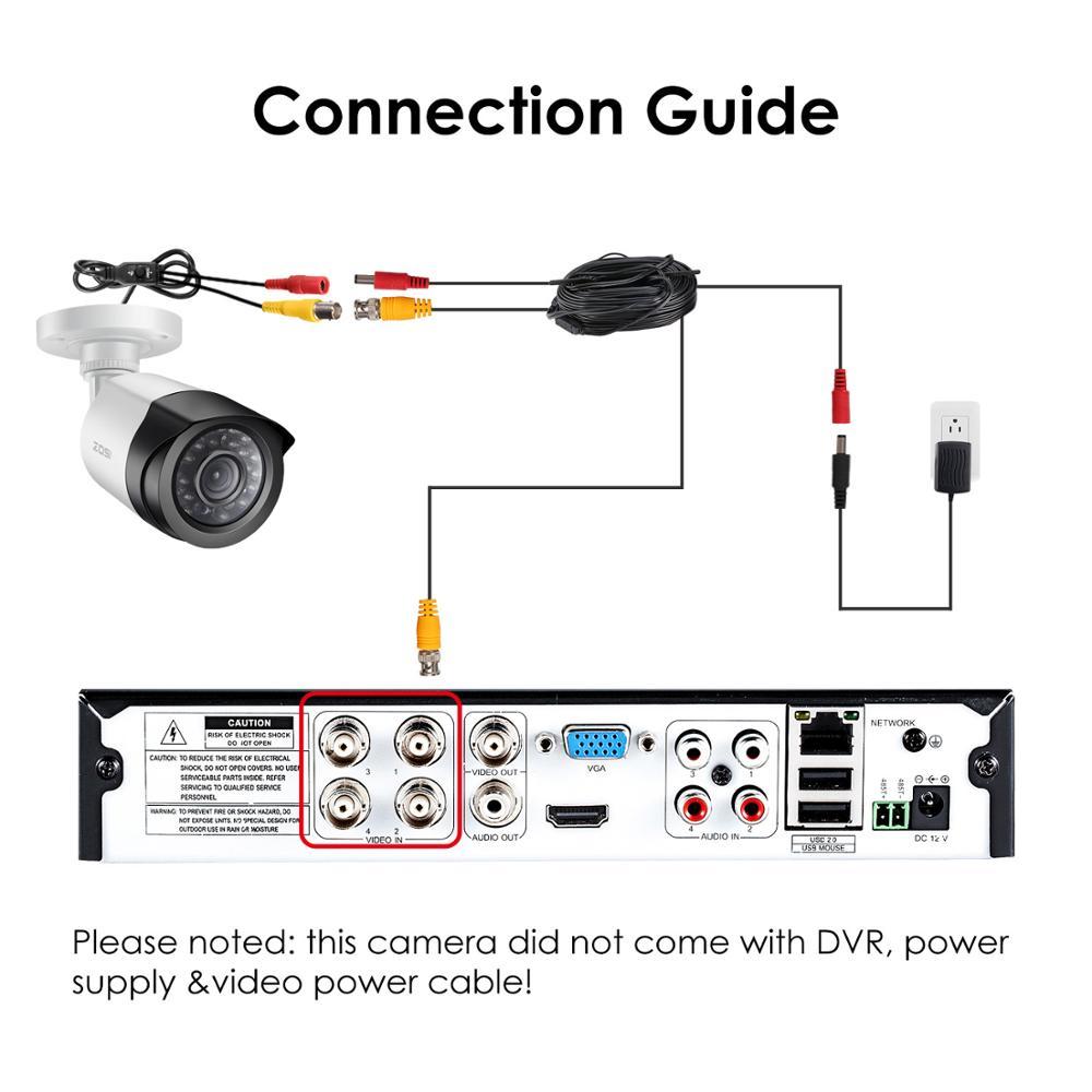 """Image 5 - ZOSI 4 в 1 CVBS AHD TVI CVI 1/2.7 """"CMOS 1080P CCTV для домашнего наблюдения с защитой от атмосферных воздействий 3,6 мм объективом с ИК камеры безопасностиhome surveillance1080p cctvcctv surveillance  АлиЭкспресс"""