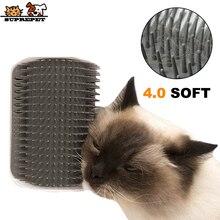 Pet-Grooming-Brush Groomer Scratcher Cat Face Soft-Corner Plastic SUPREPET 3D