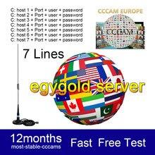 Receptor de televisión por satélite FULL HD, 8 líneas, más estables, 4/5/6/7/8 Clines, WIFI, DVB-S2, compatible con Ccams, 2021